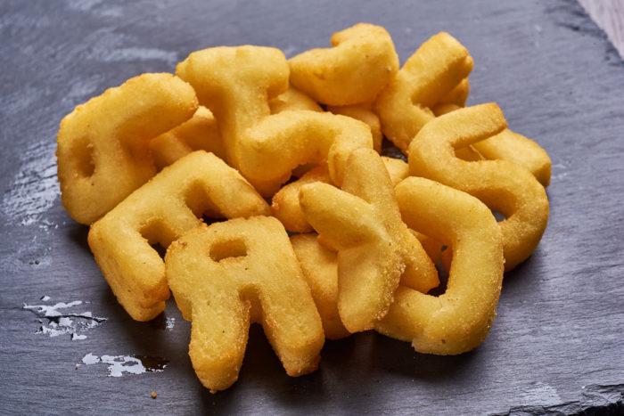 Алфавит картофельный